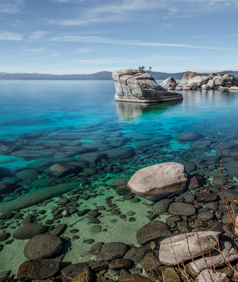 Bonsai Rock in Lake Tahoe Nevada