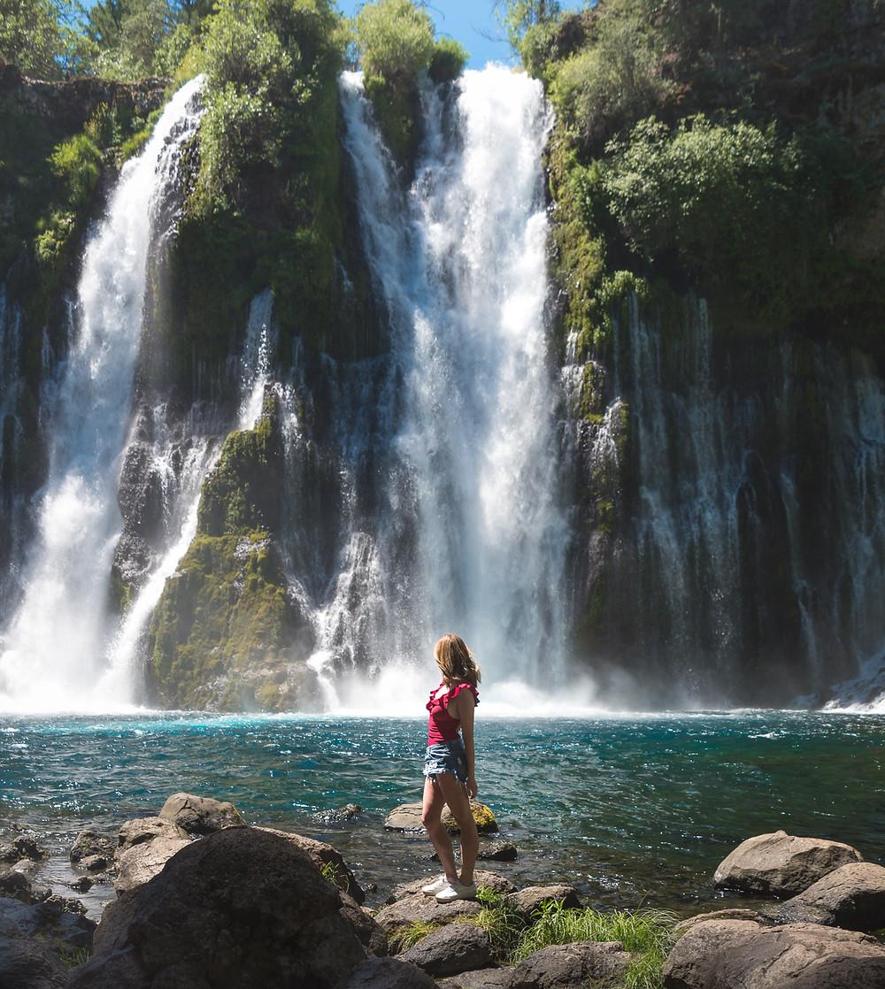Burney Falls in Shasta County