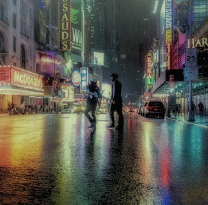 Times Square Lights