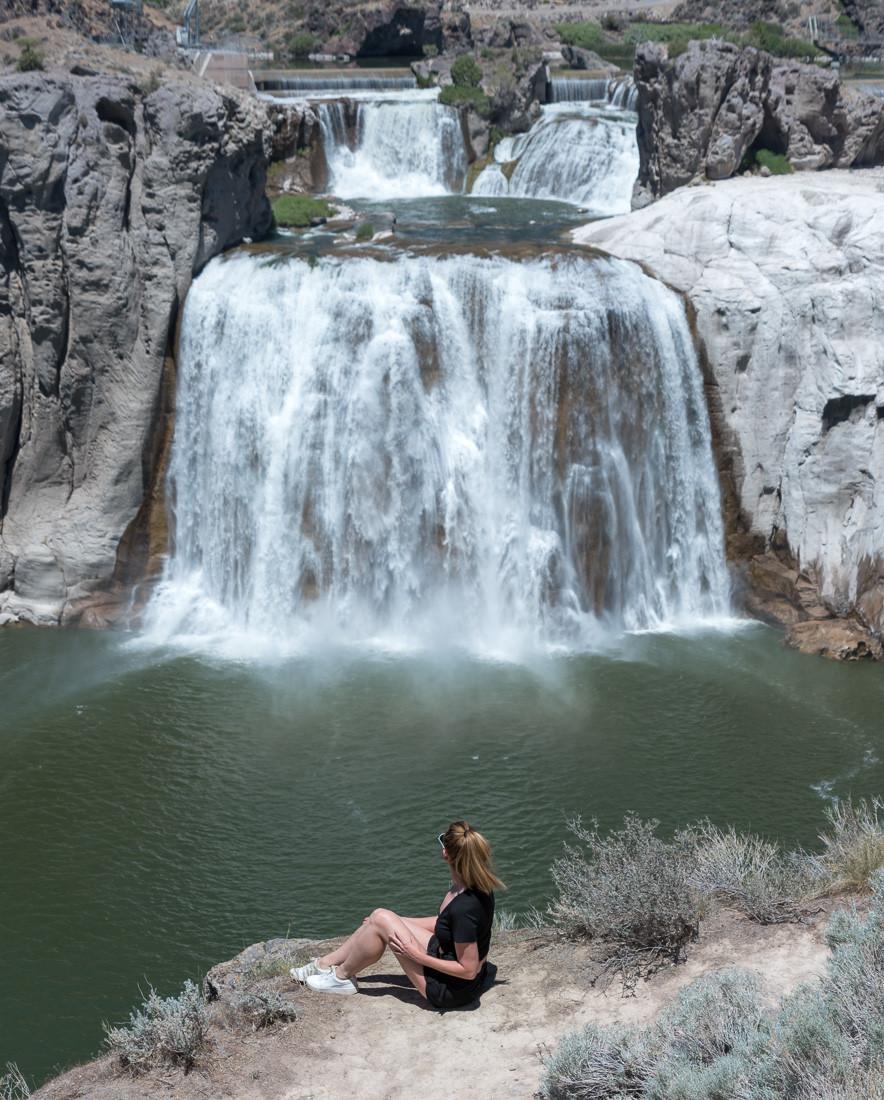 Shoshone Falls in twin falls idaho