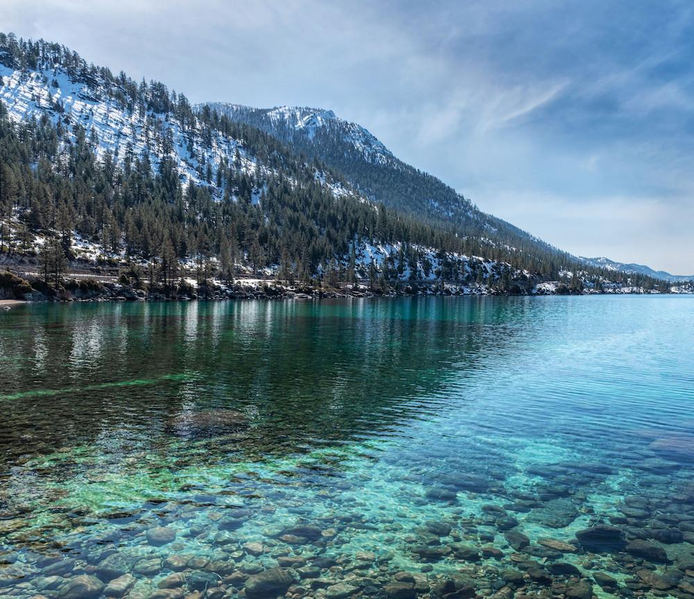 Hidden Beach in Lake Tahoe Nevada