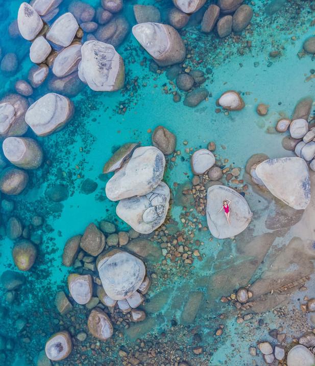 Bonsai Rock Aerial