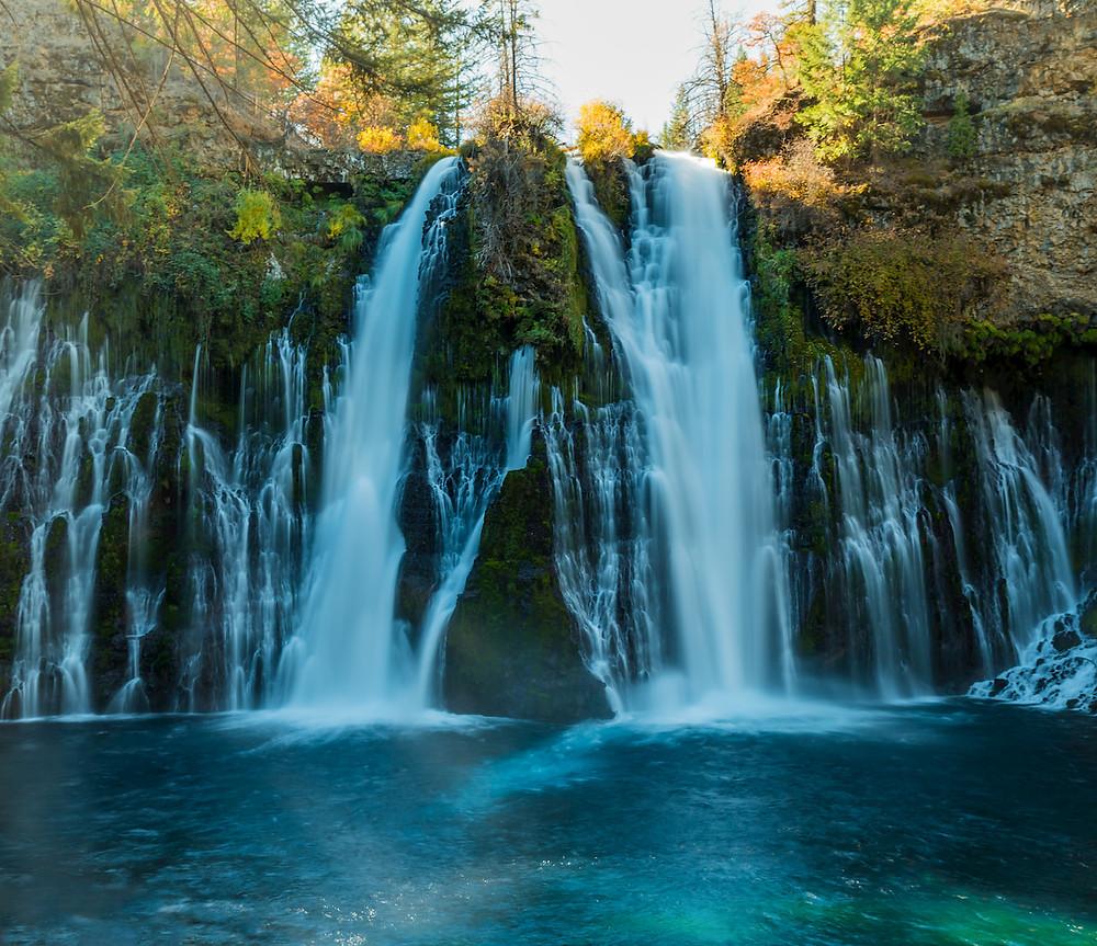 Visiting Burney Falls in Mcarthur--burney falls memorial state park