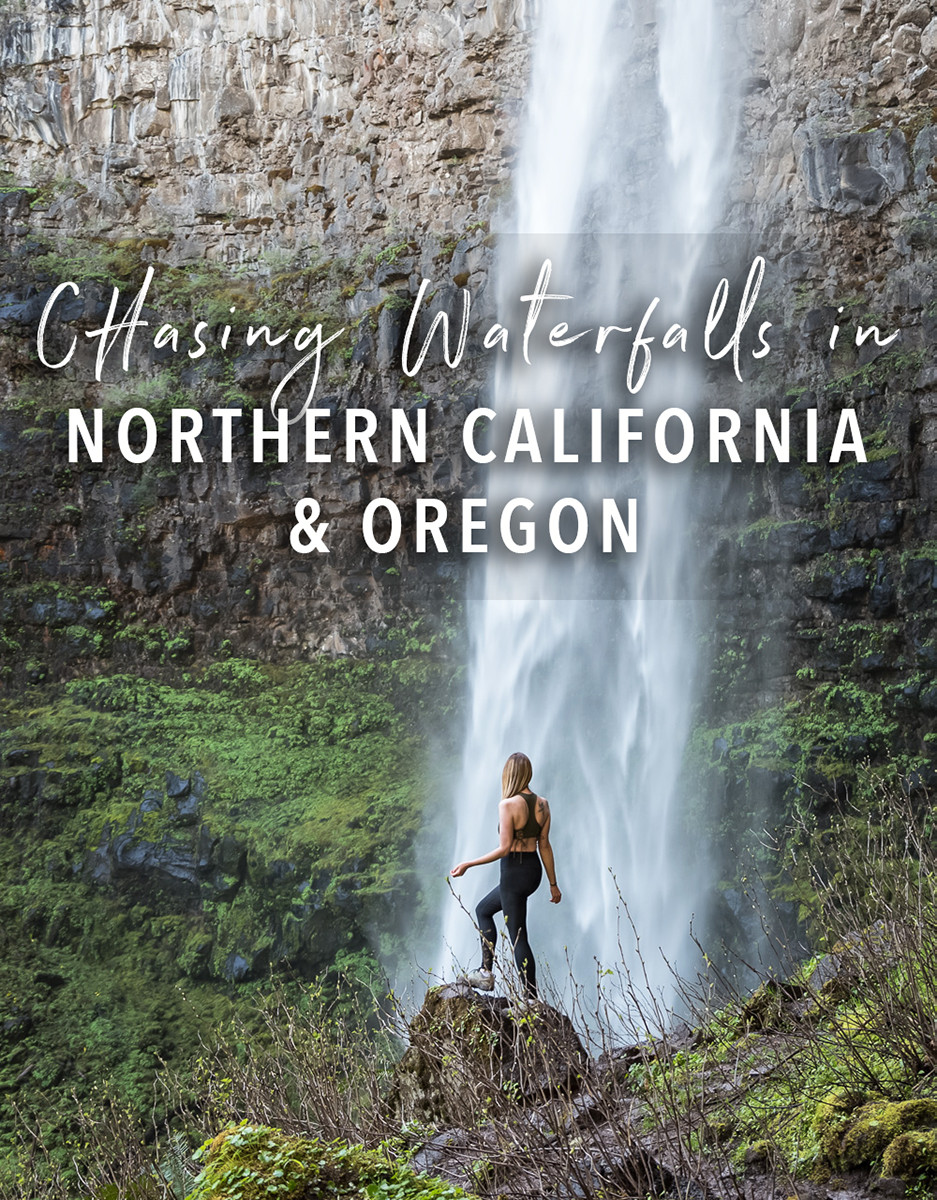 Chasing waterfalls in northern california and oregon