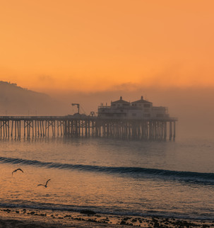 Sunrise at Surfrider Beach
