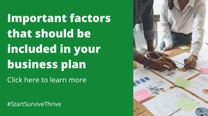 Important factors that should be included in your business plan