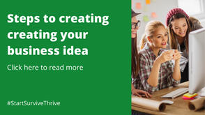 Start-up success! Steps to creating your business idea