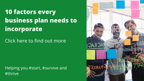 10 factors every business plan needs to incorporate
