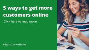 5 ways to get more customers online