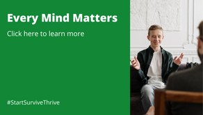 Every Mind Matters - Mental Health Awareness Week