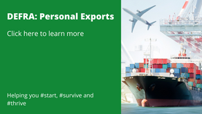 DEFRA: Personal Exports