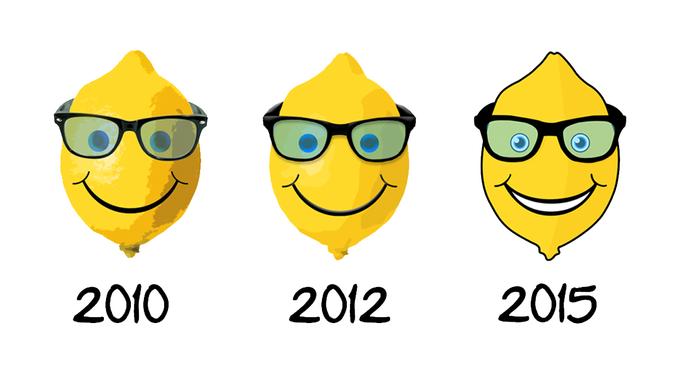 New logo for Geeky Lemon