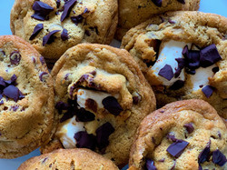 CAMPFIRE S'MORE COOKIES