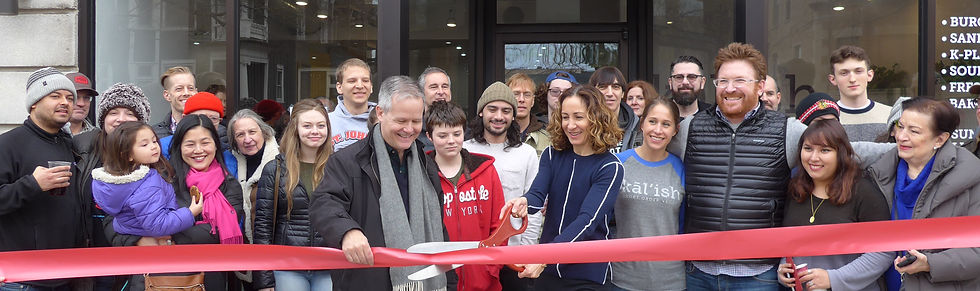 Ribbon Cutting Ceremoy at Kāl'ish
