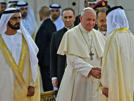 Grand Welcome for Pope Francis in UAE