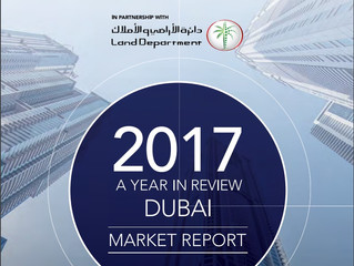 2017 Year in Review Dubai Property Market
