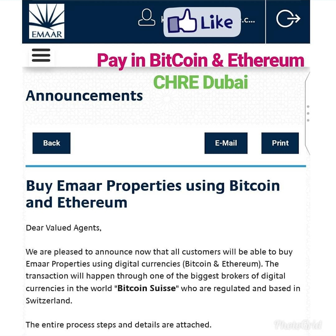 can you buy property with cryptocurrency