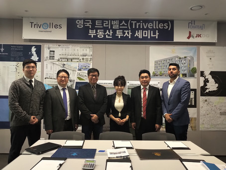 Trivelles International, UK Property Investment Show in Seoul, Korea