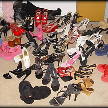 shoe and heel fetish