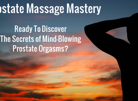 Prostate Massage - The Male Gspot is the Pspot