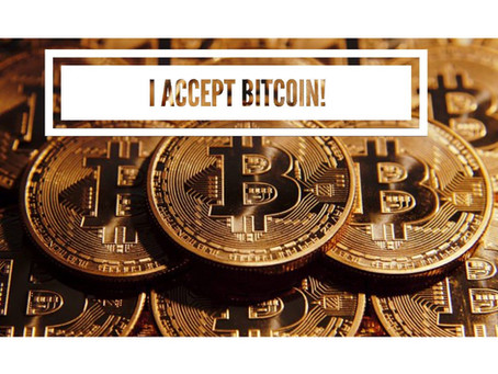 I Accept Cryptocurrency & Bitcoin