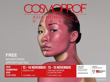 Cosmoprof Asia Hong Kong 12-15 Novemver - CASO Dom