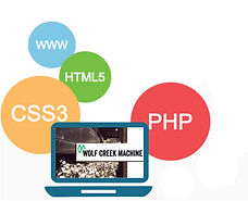 I offer custom web design and development