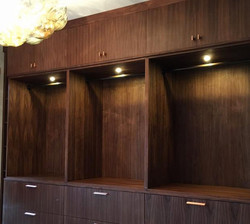Oakmont Country Club custom cabinet