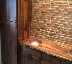 Bathroom custom cabinet