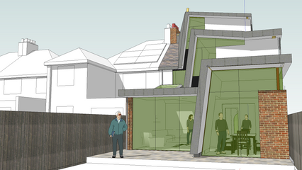 Third project on the same street in just over one year granted planning consent