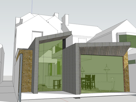 Ultra-modern extension in Newnham Conservation Area granted consent