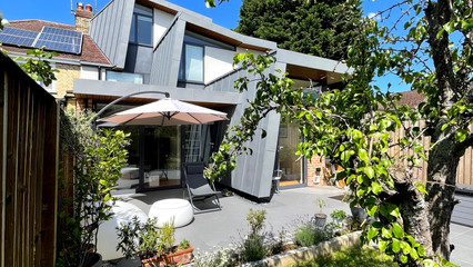 State of Design Langham Rd extension, has reached the final in the LABC 'Best Extension of the Year'