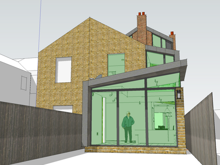 Contemporary extension granted planning consent in Newnham Conservation Area