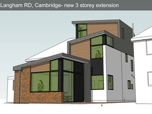 Planning consent granted for daring extension to 1930's semidetatched  in central Cambridge