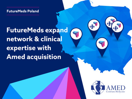 FutureMeds Acquires the Polish Amed Clinic Network