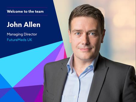 FutureMeds Appoints John Allen as Managing Director of FutureMeds UK