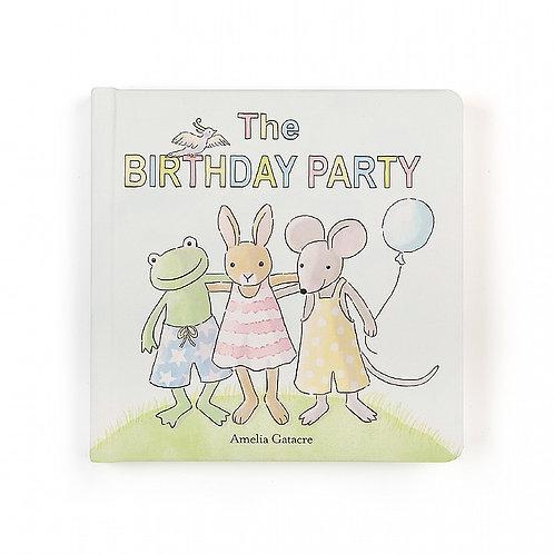 Birthday Party Book  (jellycat)