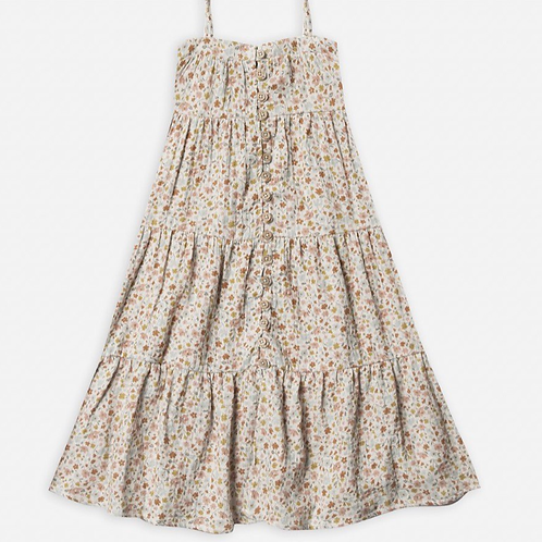 Rylee and Cru tiered maxi dress