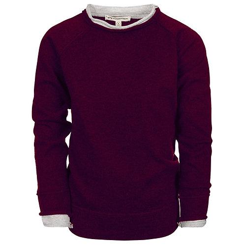Appaman Maroon Roll Neck Sweater