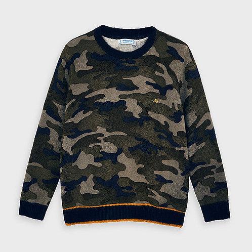 Appaman Navy Camo Sweater