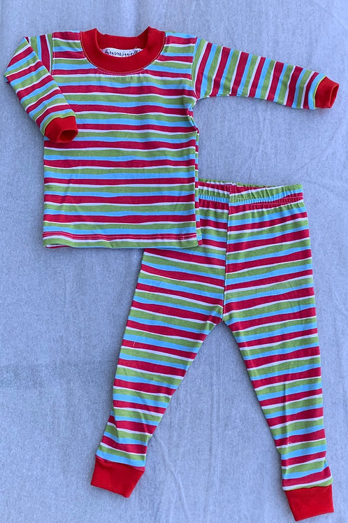 Thingamajiggies4kids Stripe Pajama Set
