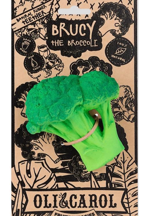 Bruce the broccoli teether