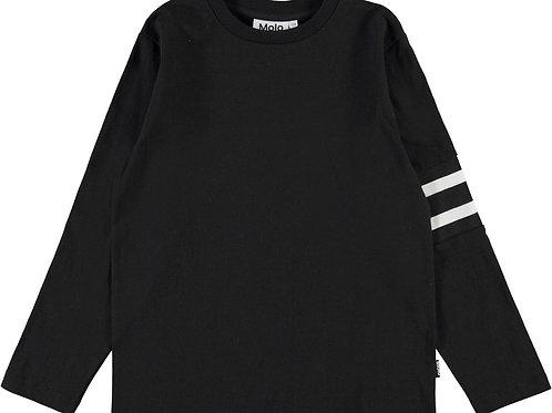 Molo Stripe Sleeve Long Sleeve Top