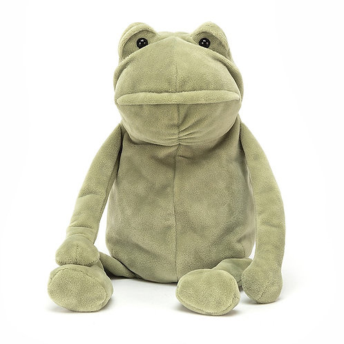 Fergus the frog by jellycat