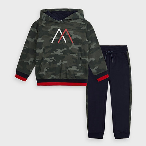 Mayoral Camo Sweat Set