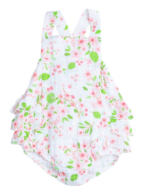 Angel Dear Cherry Blossom Sunsuit
