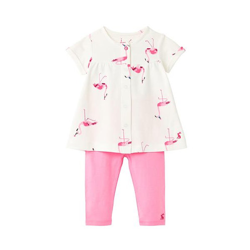 Joules Flamingo Tunic and Legging Set