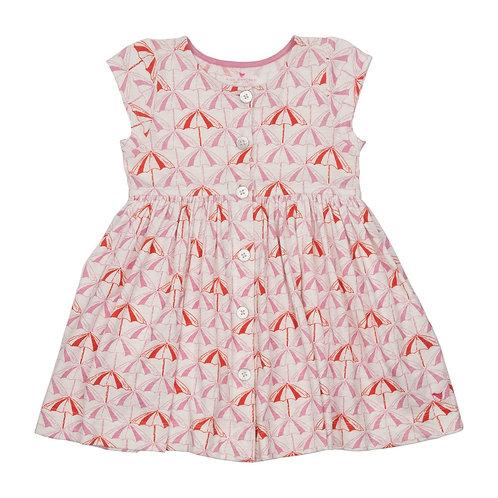 Pink Chicken Umbrella Dress