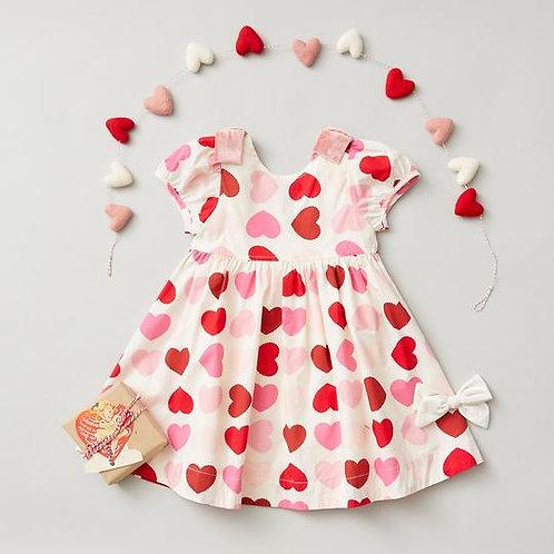Pink Chicken Erin Valentine Dress