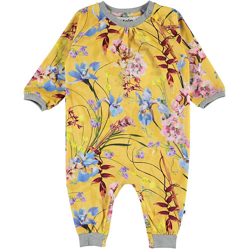 Molo Art of Flowers Onesie